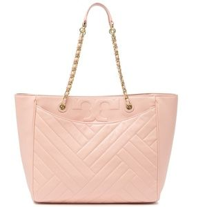 Tory Burch Alexa Quilted Tote NWT